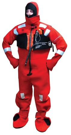 Imperial 1409 Immersion Suits By Revere Adult Intermediate