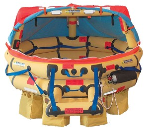 WINSLOW ISO GLOBAL RESCUE RAFT - 10 Man