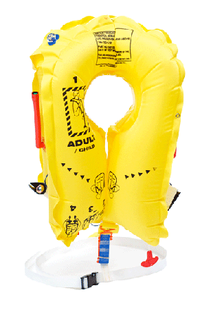 Switlik a-a 50652 u. S air force inflatable life preserver military.