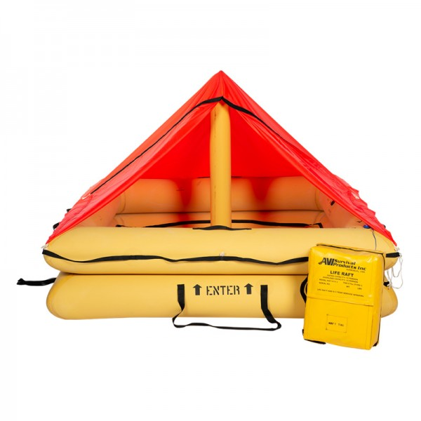 SURVIVAL PRODUCTS TYPE I, TSO'd 6 MAN RAFT, RAF1206-301, Part 91