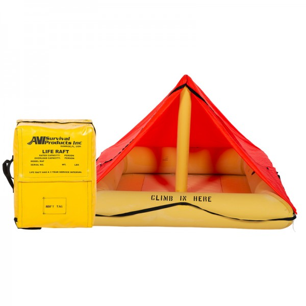 SURVIVAL PRODUCTS TYPE II, TSO'd 4 MAN RAFT, RAF1104-305 T1, Part 135