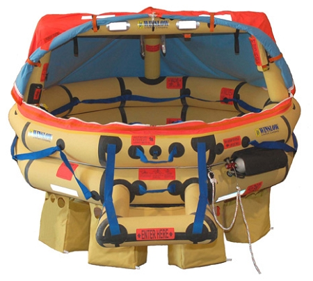 12 Person ISO Global Rescue Life Raft