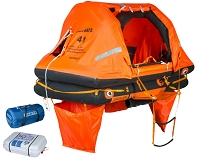 Sea-Safe Self-Righting 6CR Life Raft  - Hard Case