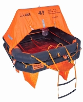Sea-Safe Offshore 8CR Life Raft  - Hard Case