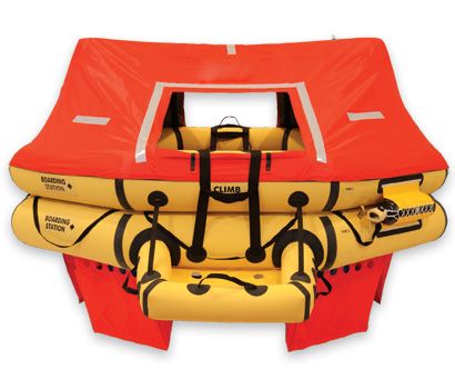 T11AS 11 Man VIP Series Life Raft  P/N: R1570-123