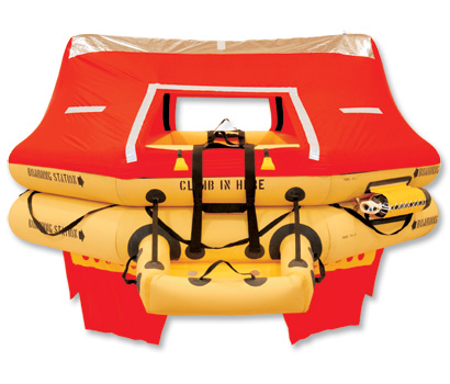 T14AS 14 Man VIP Series Life Raft PN: R1400-113