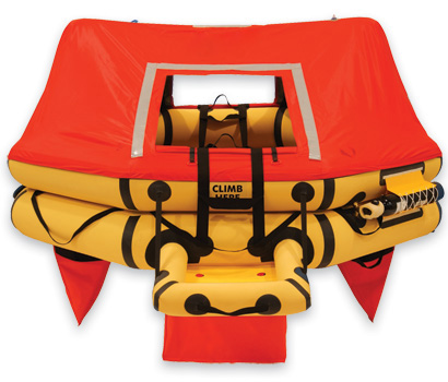 T7AS 7 Man VIP Series Life Raft DELUXE 135 P/N : R1500-205