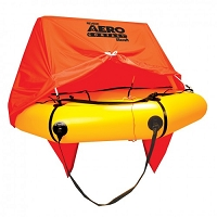 4 person Aero Compact Liferaft with canopy