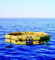 Winslow 25-38 Person FACOM CNUL Commercial Type One Life Raft