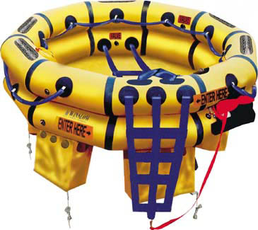 Winslow 10-15 Person Super-Light DualSafe Life Raft
