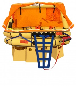 Winslow/Pelican Pack - 4 Man Ultra Light Offshore Life Raft