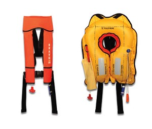 IN STOCK!!!! Eastern Aero Marine P01190-101R Red BRAVO Aviation Life Vest
