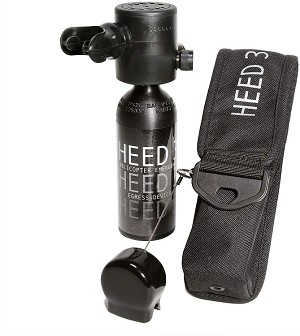 HEEDS III (Helicopter Emergency Egress Device) 1.7 - Spare Air  with Holster