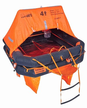 Sea-Safe Offshore 4V Life Raft