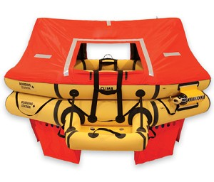 T11AS 11 Man VIP Series Life Raft  P/N : R1570-203