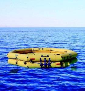Winslow 46-69 Person FACOM CNUL Commercial Type One Life Raft