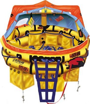 Winslow FAA Approved Part 135 (6 to 9 man) Life Raft  (FASA69)